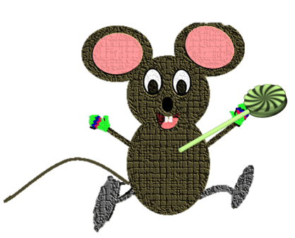 mouse and lolly