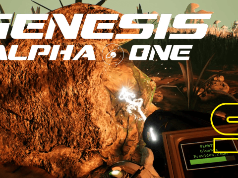 The interstellar DLC of Fallout76. Genesis Alpha One #9