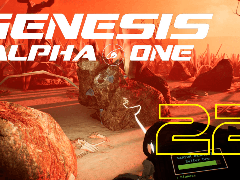 In the vents again. Genesis Alpha One #22