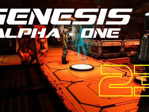 The second level. Genesis Alpha One #23