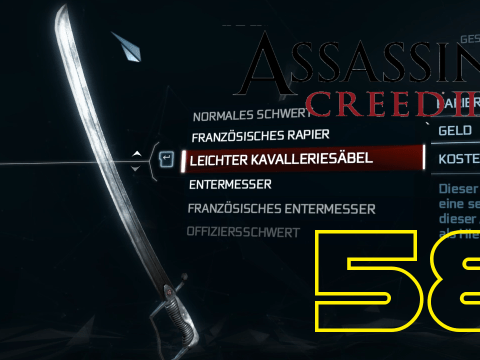 Ein neues Messerchen. Assassin's Creed III #58
