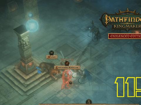Der einsame Grabhügel Teil 2. Pathfinder: Kingmaker #115