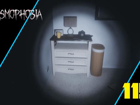 Dieser Geist hat sich wirklich Zeit gelassen. Teil 1. Phasmophobia #115