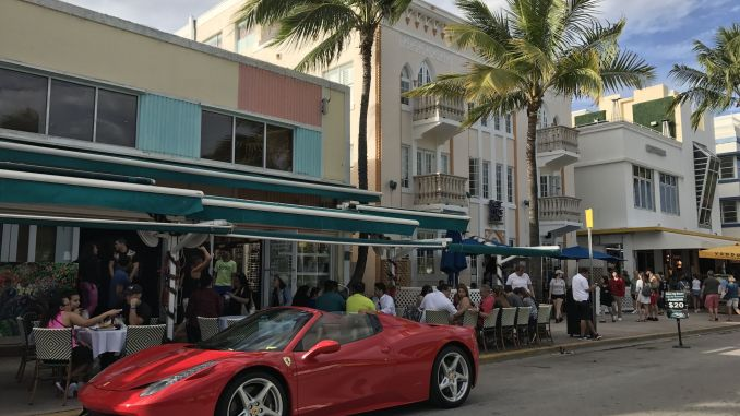 Welcome to Miami! During our vacation in Florida we enjoyed the ambience of the metropolis! Photo: Sascha Tegtmeyer