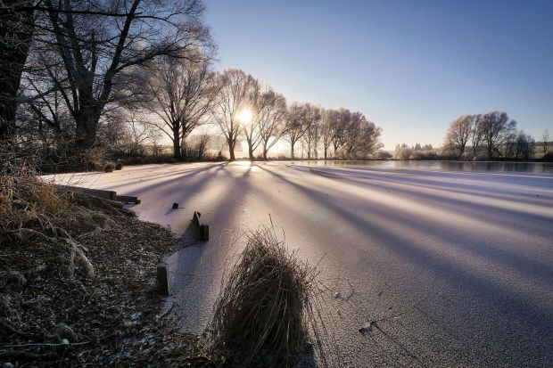 Off to the outside: The winter has definitely its beautiful sides! Photo: Pixabay