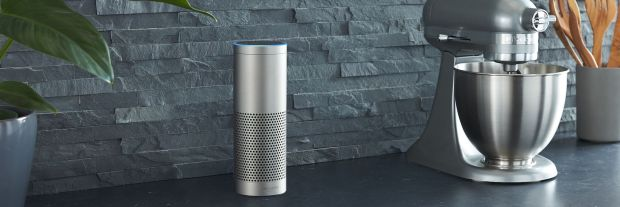 He looks fancy: The current Amazon Echo Plus makes a good job! Photo: Amazon