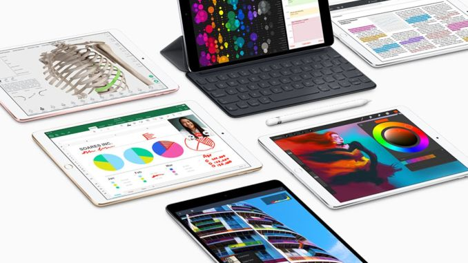 """For the current iPad Pro, there is already an external keyboard and the electronic pen """"Apple Pencil"""". Photo: Apple"""