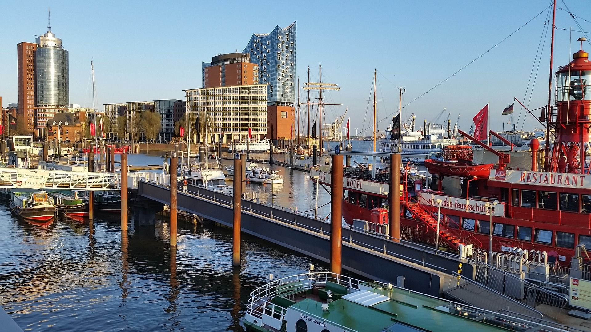 Copywriter in Hamburg: In the Hanseatic city we are very close to the client! Photo: Pixabay
