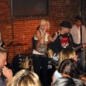 Performing with Scratcher. Dylan Mitchell, Tim Dillingham, Melissa Kanester, S.A. Sebastian Gnolfo, Brian Kerr.
