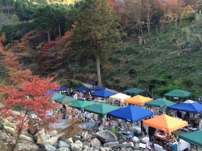 陶山神社で行われた「アリタマルシェ」
