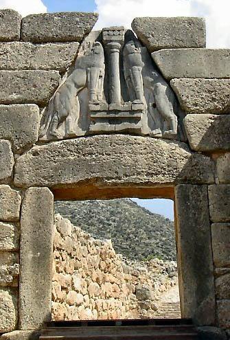 Greek Art / Lion's Gate
