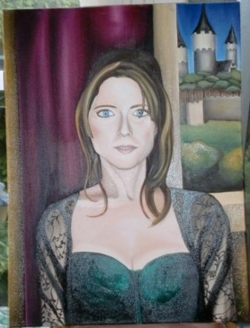 Spiridoula, commissioned portrait. Private collection, 2010.