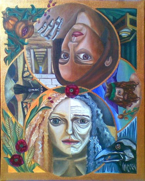 Demeter and Persephone, 2009. Available for sale.
