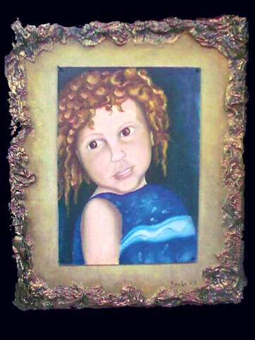 """""""Innocence."""" Commissioned portrait, 2005."""