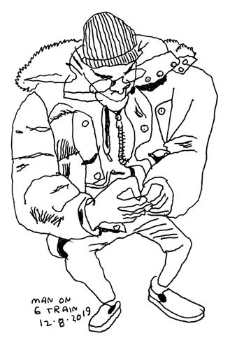 Jason Polan drawing
