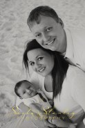 Sasha Stanley Photography : Family Beach Photograph : Navarre FL : Sunset Photography