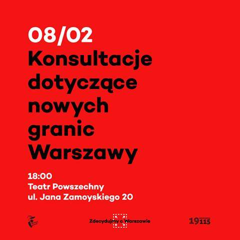 2017-02-08: Spotkanie dotyczące nowych granic Warszawy