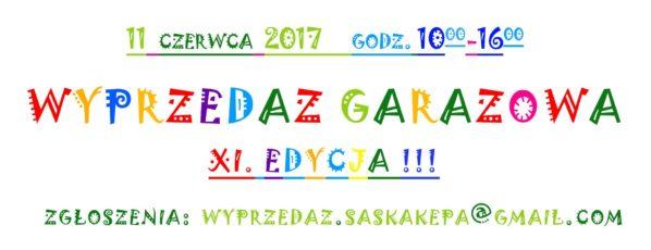 2017-06-11: XI wyprzedaż garażowa na Saskiej Kępie