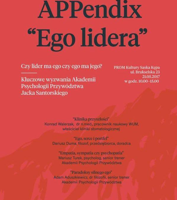 2017-05-21: Ego Lidera – Appendix