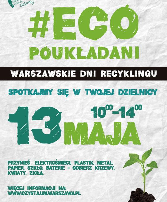 2017-05-13: Warszawskie Dni Recyklingu