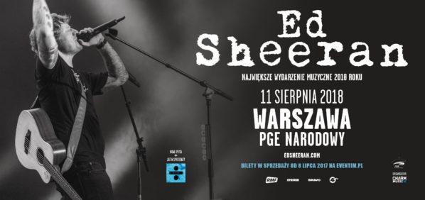 2018-08-11 & 12: koncert Ed Sheeran na PGE Narodowym