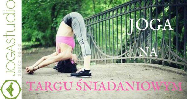 2017-07-29: Targ Śniadaniowy i joga w Parku Skaryszewskim