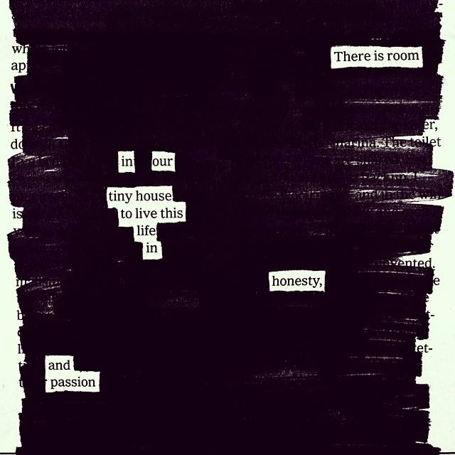 2017-07-27: Black out poetry session vol. 2