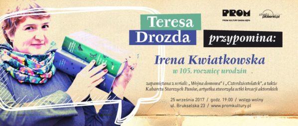 2017-09-25: TERESA DROZDA PRZYPOMINA…