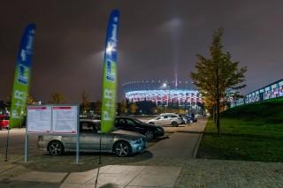2017-09-29: Czasowe wyłączenia parkingu P+R Warszawa Stadion