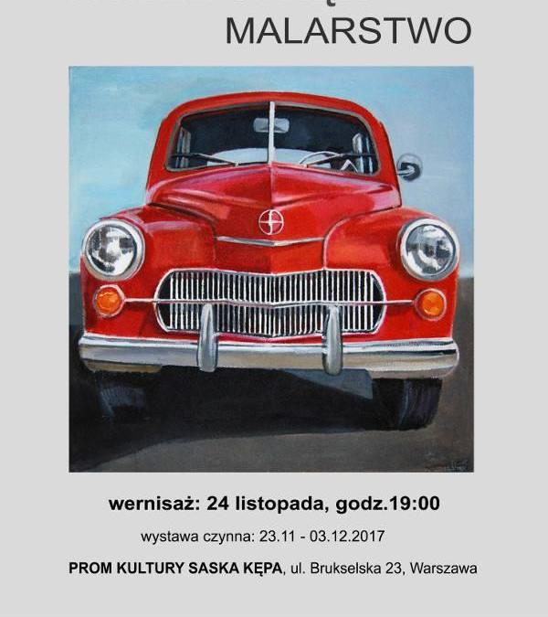 2017-11-24:  GALERIA PROM: wernisaż wystawy malarstwa Pawła Stręka