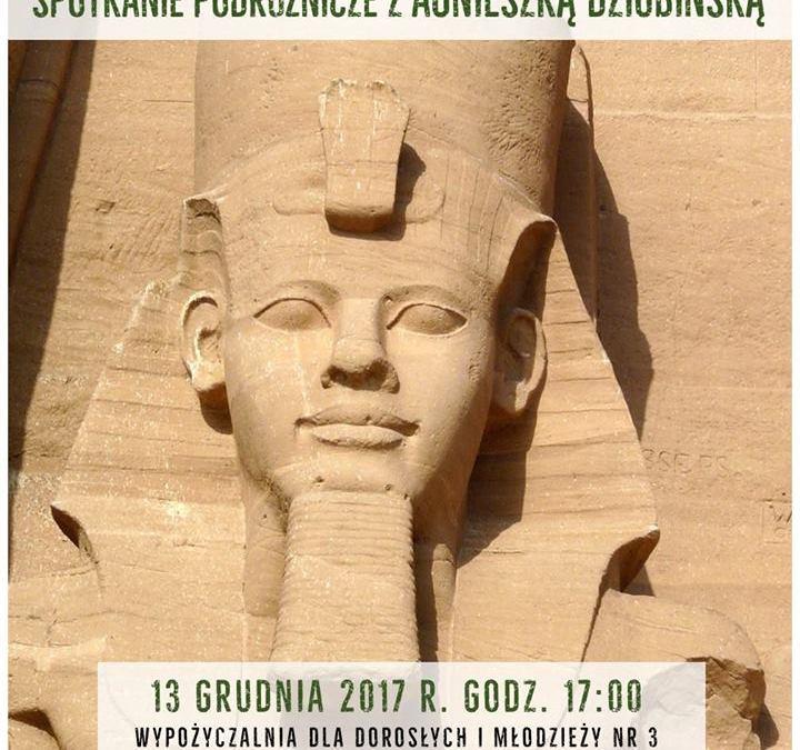 2017-12-13: Egipt – spotkanie podróżnicze w Wypożyczalni nr 3