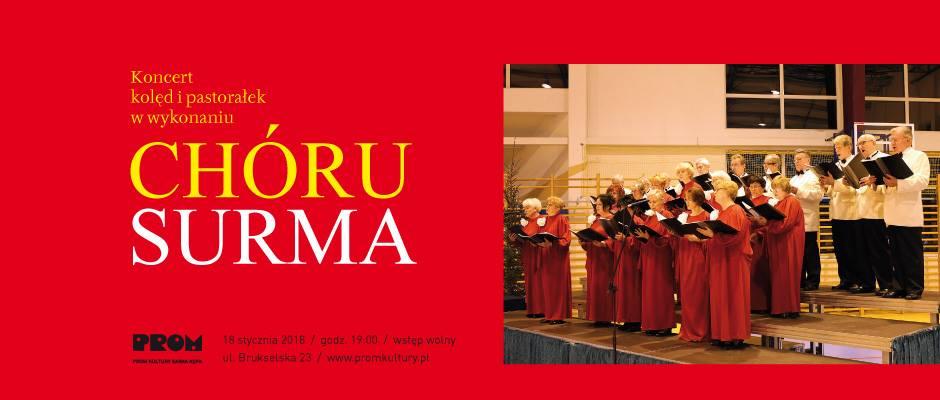 2018-01-18: Koncert kolęd i pastorałek w wykonaniu Chóru SURMA