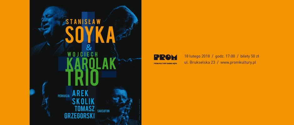 2018-02-18: Stanisław Soyka & Wojciech Karolak Trio