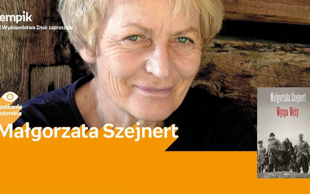 2018-03-12: Małgorzata Szejnert – premiera