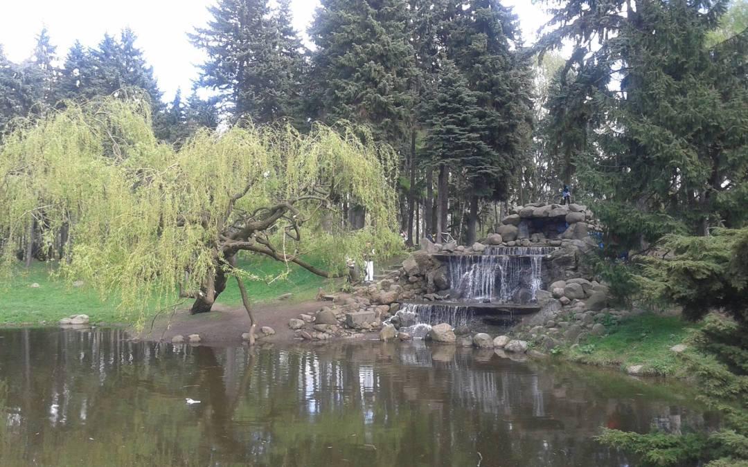 2018-04-08: Przechadzka po Skaryszaku, najpiękniejszym parku w Polsce