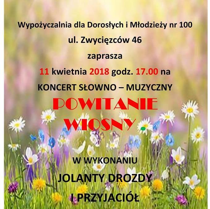 2018-04-11: Powitanie wiosny – koncert