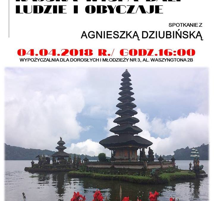 2018-04-04: Indonezja. Rajska wyspa Bali – ludzie i obyczaje