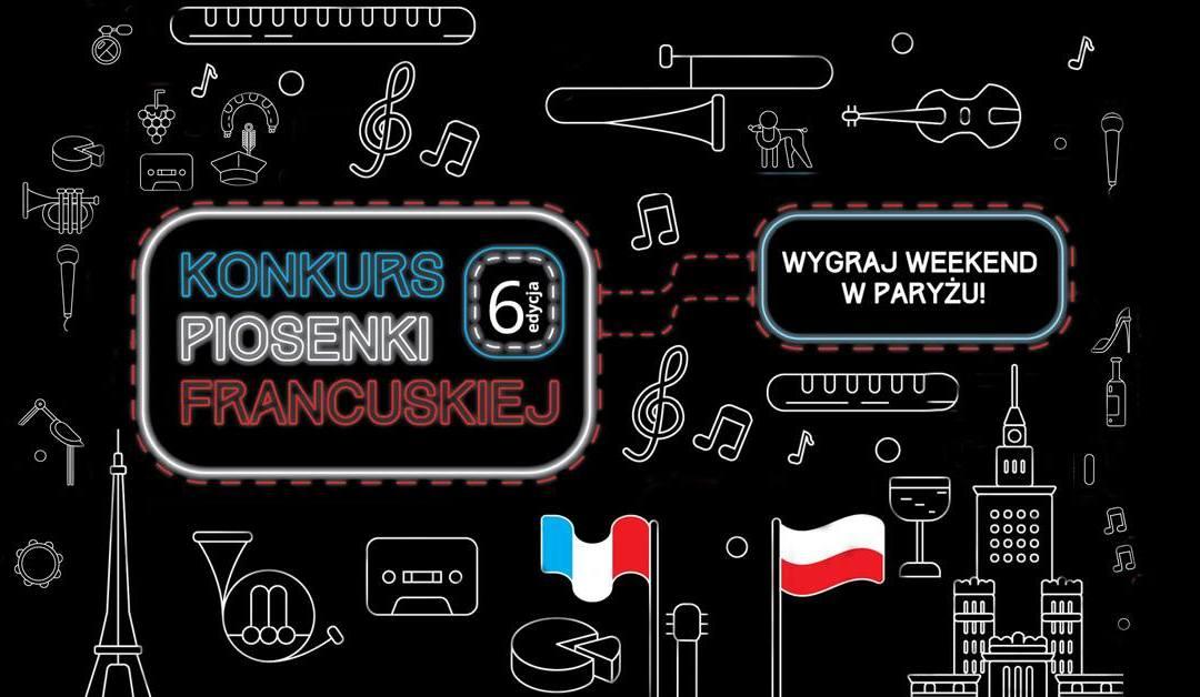 2018-07-08: Dzień francuski w Warszawie i finał konkursu piosenki francuskiej