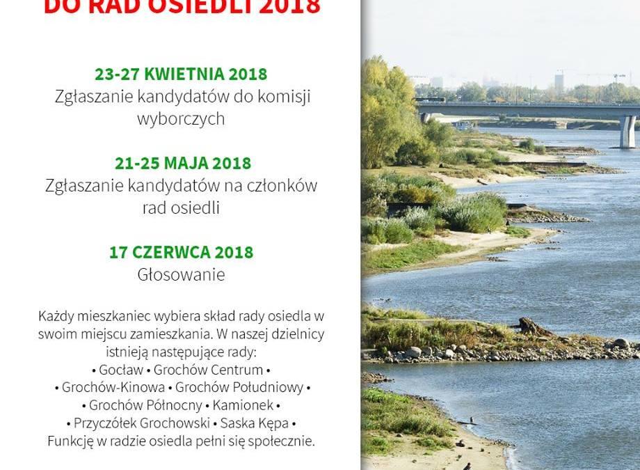 2018-06-17: wybory Rady Osiedla Saska Kępa