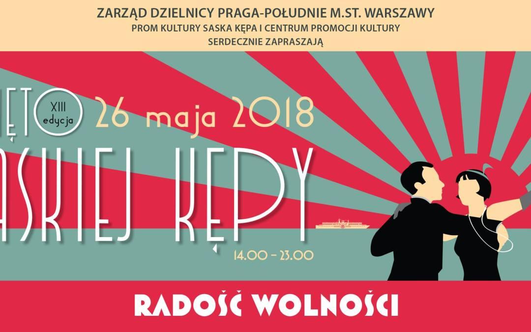 2018-05-26: XIII Święto Saskiej Kępy