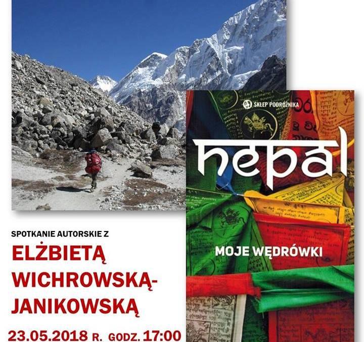 """2018-05-23: """"Nepal – moje wędrówki"""" – spotkanie autorskie"""