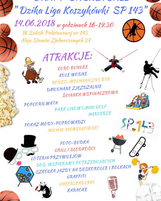 2018-06-14: Wiosenny piknik rodzinny 2018 w SP 143