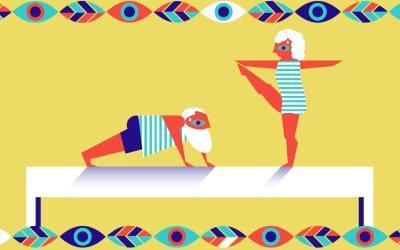 2019-04-24: Cotygodniowy aerobik z elementami tańca dla seniorów i seniorek