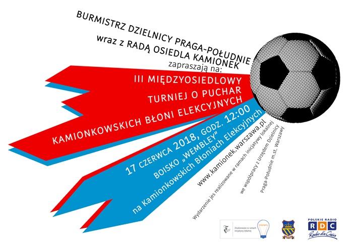 2018-06-17: III Turniej Piłki Nożnej na Kamionkowskich Błoniach Elekcyjnych