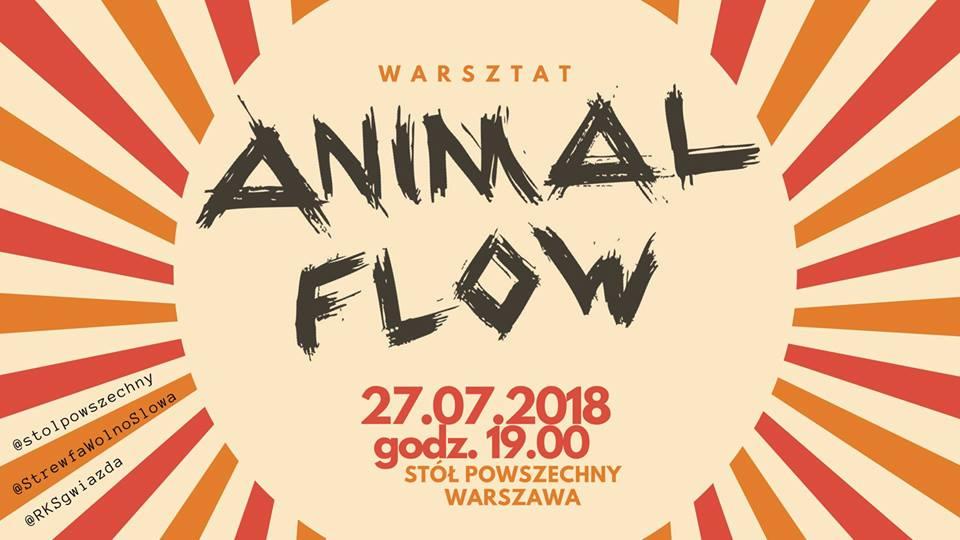 2018-07-27: Animal Flow – warsztat wprowadzający