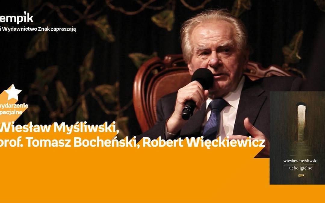 """2018-10-01: """"Myśliwski, prof.Bocheński, Więckiewicz   Teatr Powszechny"""""""
