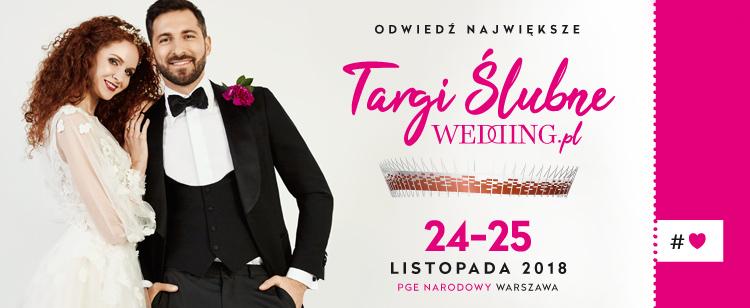 2018-11-24 & 25: Targi Ślubne WEDDING.pl