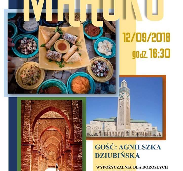 2018-09-12: Maroko. Spotkanie podróżnicze