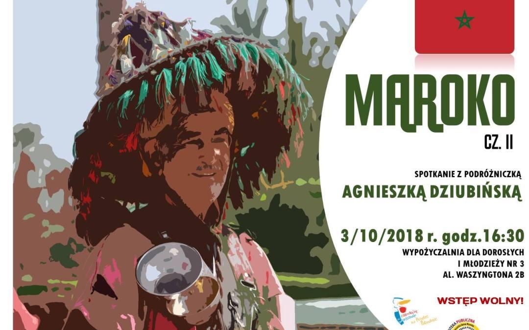 2018-10-03: Spotkanie podróżnicze Maroko cz. II