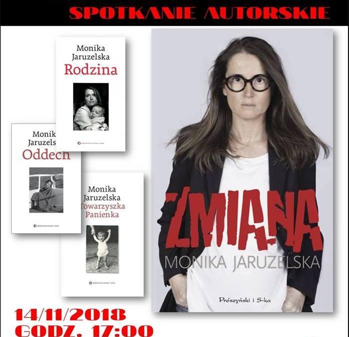 2018-11-14: Spotkanie autorskie z Moniką Jaruzelską